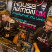 Dale Bridge & RicharDJames DJing for HouseNationUK