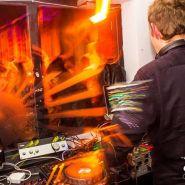 Phil West DJing