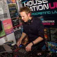 Phil West DJing for HouseNationUK