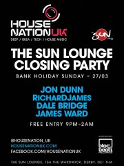 Sun Lounge Closing Party