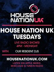 HouseNationUK Tuesdays – Live Shows!