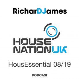 RicharDJames – HousEssential August 2019